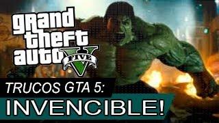 """INVENCIBLE EN GTA! """"Trucos GTA 5"""" Como Ser Invencible En"""