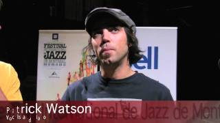 Patrick Watson - Press conference 2009