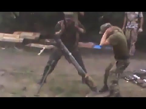 Ополчение перешло в наступление, бой в Кожевне 22.07.2014 (видео+)