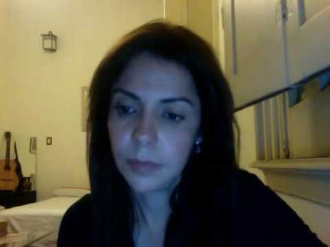 Gina González canta a Alfredo di Stefano