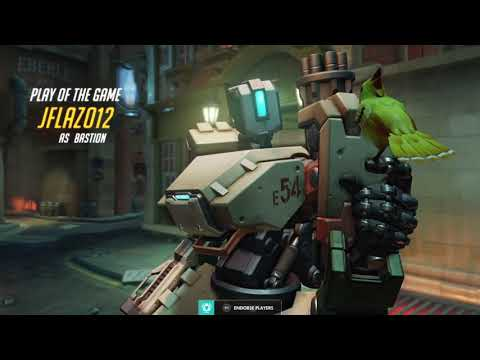 First EVER Overwatch Gameplay