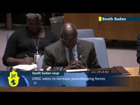 South Sudan instability: UNSC votes to increase peacekeeping forces
