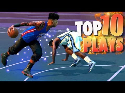 NBA 2K16 TOP 10 PARK Ankle Breakers, Crossovers, Posterizers & Putbacks