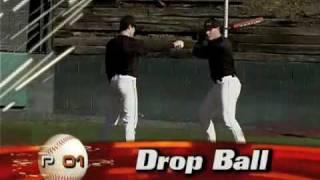 P01 Baseball Training Drills: Drop Ball Drill