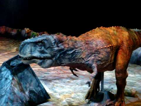 Walking with Dinosaurs: T-REX Section