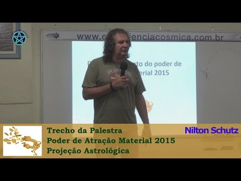 Nilton Schutz - Poder de Atração Material 2015 - Projeção Astrológica