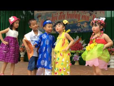 Ca nhạc thiếu nhi, Trường mầm non Hoa Mai-Hà Giang