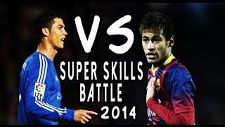 Cristiano Ronaldo Vs Neymar Super Skills Battle 2014|HD