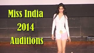 Miss India 2014 goa auditions Video