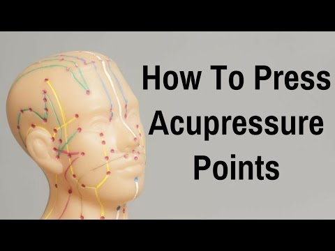 How To Press Acupressure Points - Massage Monday #313