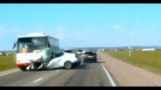 Подборка ДТП с видеорегистраторов 87 \ Car Crash compilation 87
