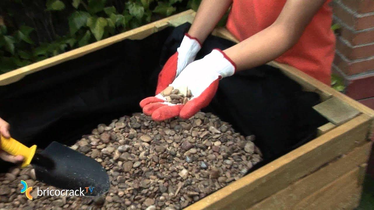 Hacer un huerto en la terraza bricocracktv youtube - Como disenar una terraza jardin ...
