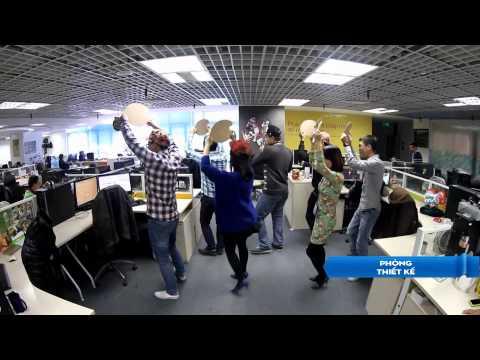 Ban giám đốc  VTC Intecom nhảy flashmob cực chất nhân dịp sinh nhật công ty 9 tuổi