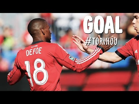 GOAL: Jermain Defoe one-on-one with Tally Hall from midfield | Toronto FC vs. Houston Dynamo