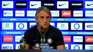 Live! Conferenza stampa Mancini prima di Chievo Verona - Inter 18.9.2015 11.30CEST