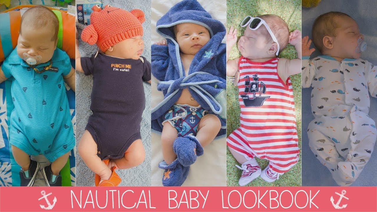 Nautical baby lookbook w baby oliver youtube