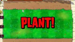 Let's Play Plants Vs Zombies 1 VIENEN LOS ZOMBIES