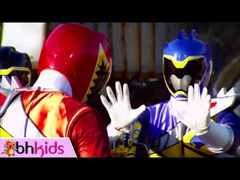 Phim Siêu Nhân Thú Điện Long Kyoryuger Tập 1+2 : Đến Rồi Siêu Nhân Đỏ!
