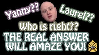 Laurel or Yanny Solved | What Do You Hear?