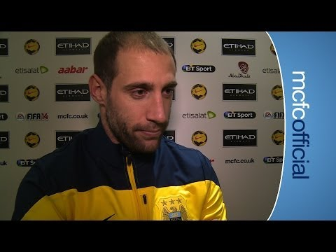 PABLO ZABALETA REACTION | City 0-1 Chelsea