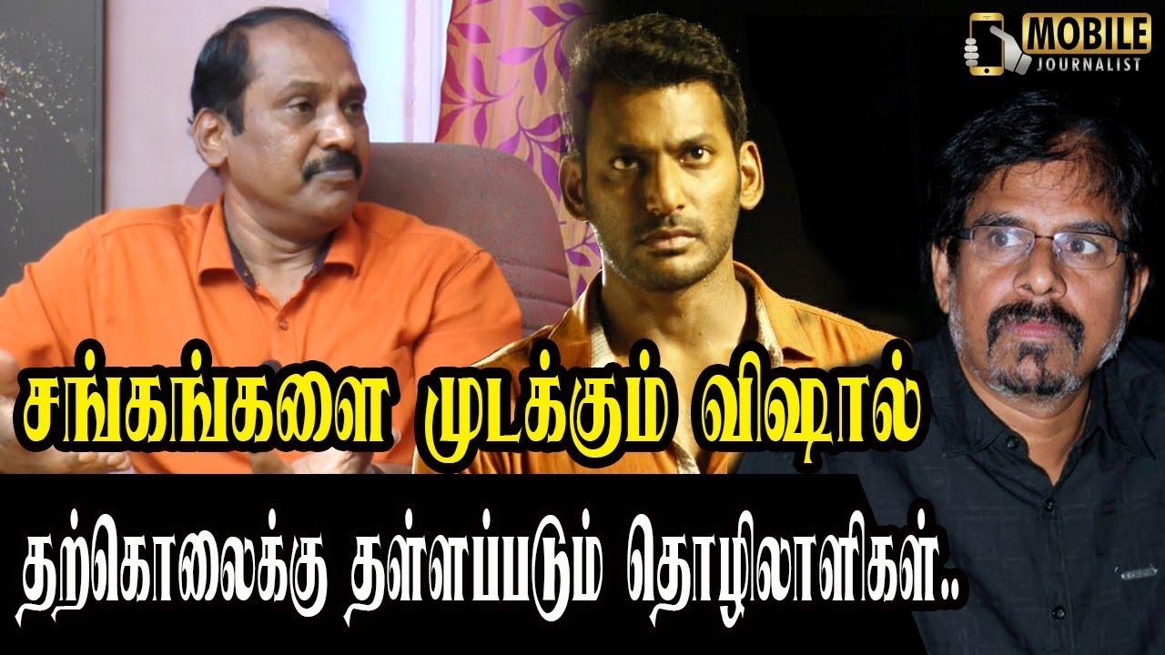 பழிவாங்கும் விஷால் ஆர்.கே.செல்வமணி..! | Dhanapal Exclusive Interview On Vishal R.K.Selvamani Issue
