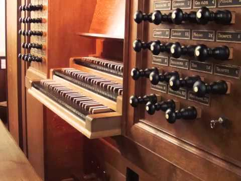 JS Bach Prelude and Fugue in C minor BWV 847 Well Tempered Clavier Book 1 Trinity Cambridge Organ
