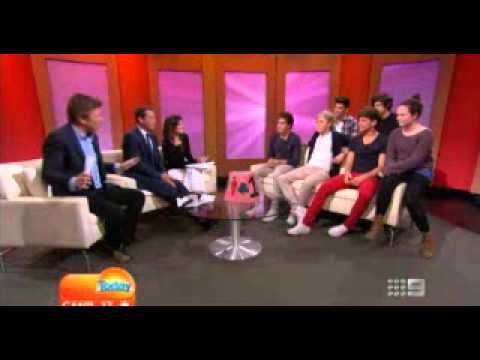 One Direction on Today Show AUSTRALIA Part 2