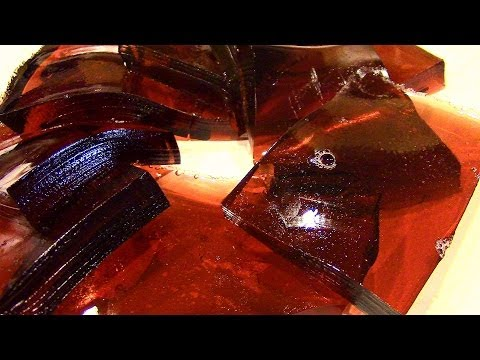 How to make Jello Jigglers using fruit juice!-Healthy Jello Jigglers