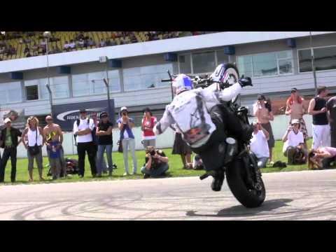 Acrobacias en Motocicleta | Abierto de Alemania 2010