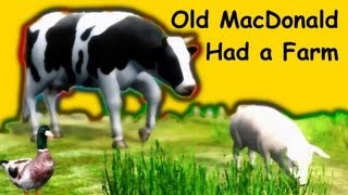 Muffin Songs - Old MacDonald Had a Farm | nursery rhymes & children songs with lyrics