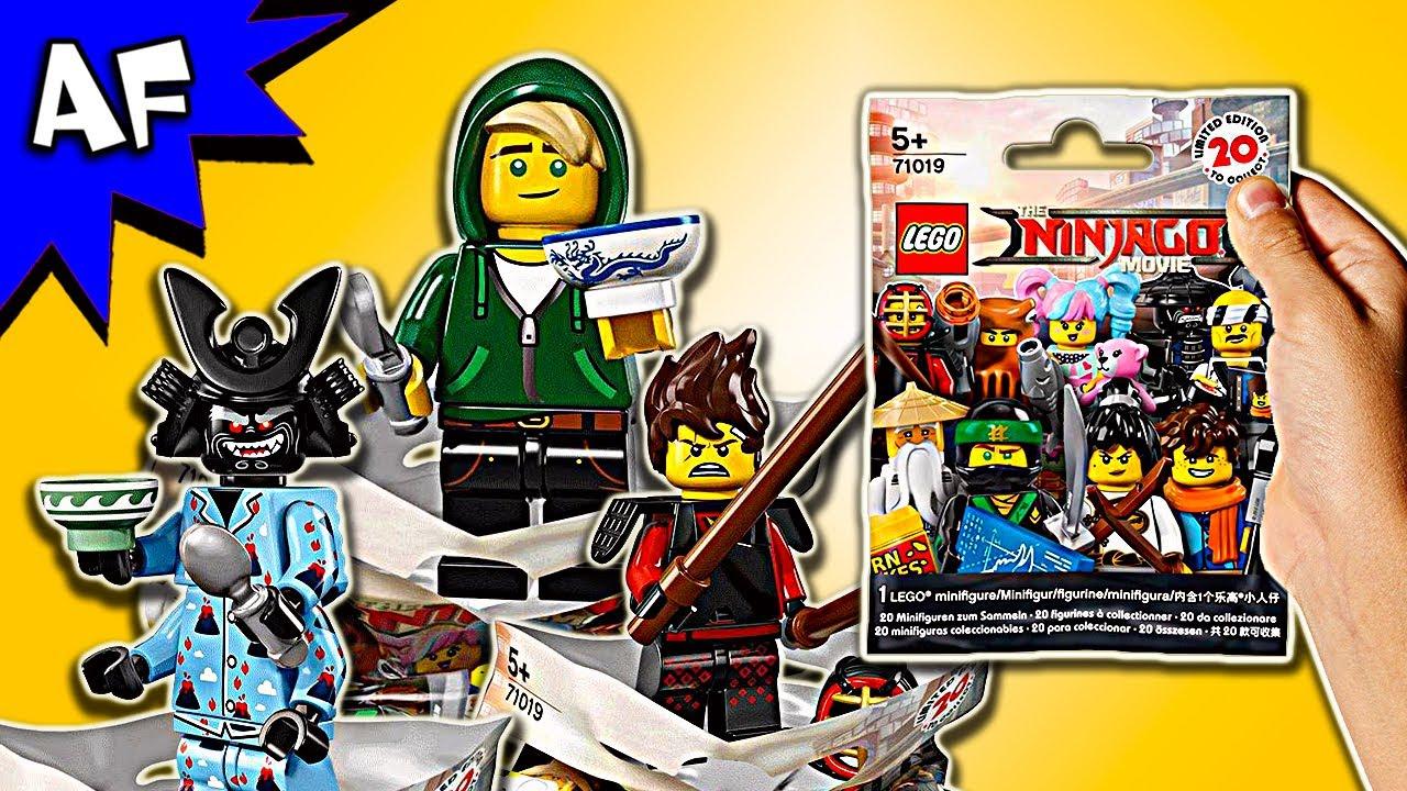 Lego Ninjago Movie Minifigure Series 71019 Blind Bag Opening 70594 The Lighthouse Siege