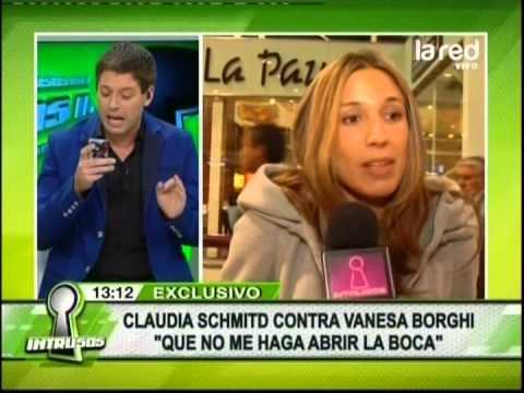 ¿Por qué continúa la pelea entre Vanessa Borghi y Claudia Schmidt?
