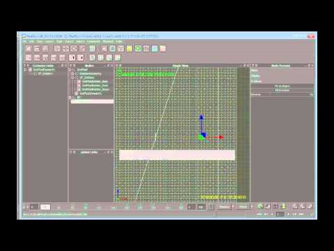 Create a large-scale water simulation in RealFlow (5 of 9)