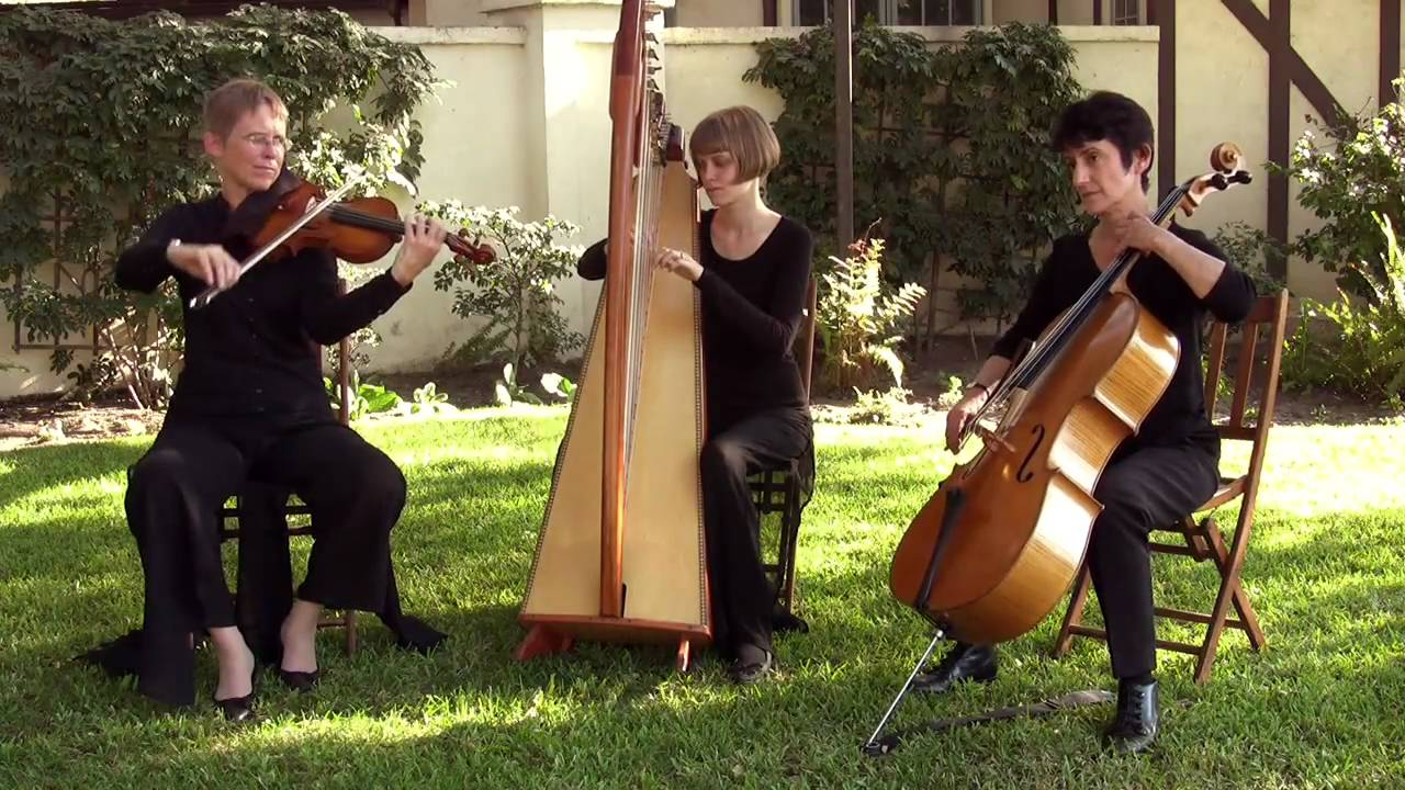 Pasadena Strings 7 Ensembles Playing Pachelbel S Canon In D Youtube