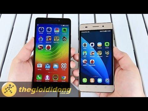 Test khả năng đa nhiệm của Lenovo A7000 và Honor 4C | www.thegioididong.com