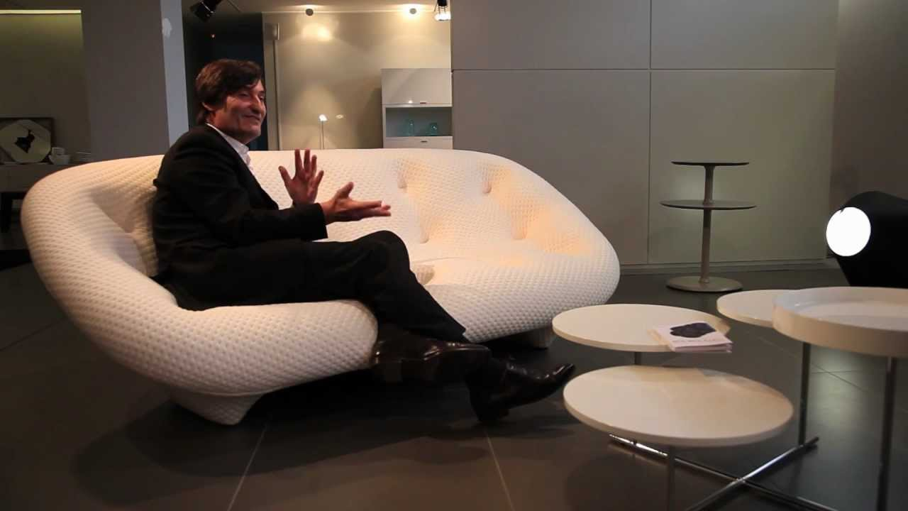 le canap ploum par ronan erwan bouroullec pour ligne roset youtube. Black Bedroom Furniture Sets. Home Design Ideas