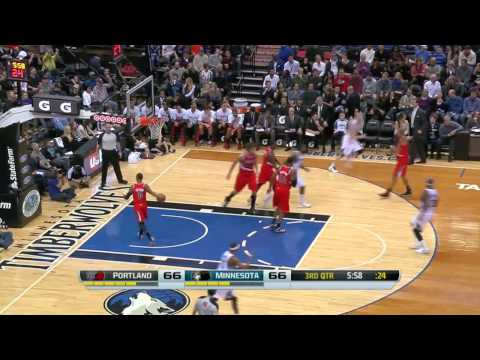 Portland Trail Blazers vs Minnesota Timberwolves | February 8, 2014 | NBA 2013-14 Season