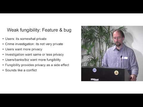 Fungibility, Privacy & Identity (Adam Back, February 2014)