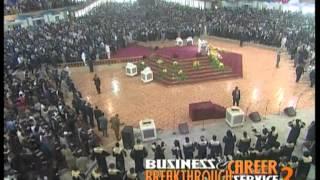 Bishop David Oyedepo: Business & Career Breakthrough Service 2 - (15/04/2012)