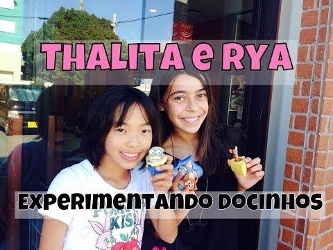Thalita e Rya | Experimentando docinhos