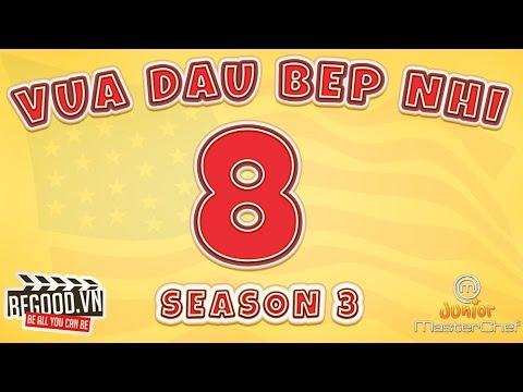 [Full màn hình] Vua Đầu Bếp Mỹ Nhí Mùa 3 Tập 8-End - Junior US Season 3 Episode 8 VietSub