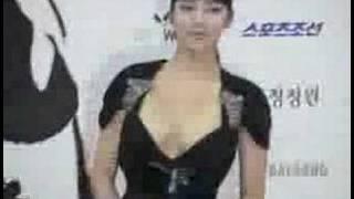 Korean Actress Dress (Blue Dragon Film Awards)