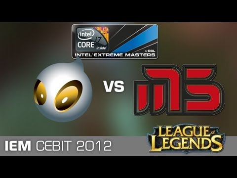 Grand Final LoL: Dignitas vs. moscow5 - Intel Extreme Masters World Championship 2012