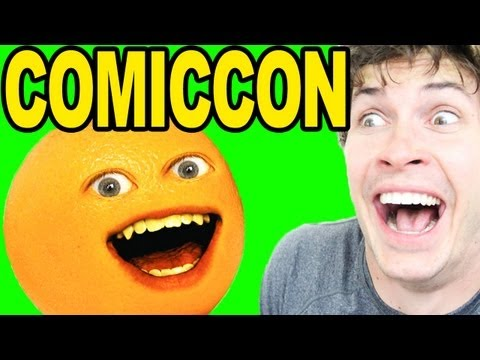 ANNOYING ORANGE COMIC CON PANEL!!
