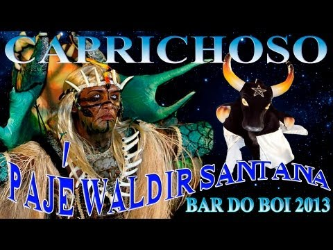 Bar do Boi 2013/Pajé Waldir Santana (Parintins HD® Vídeos)
