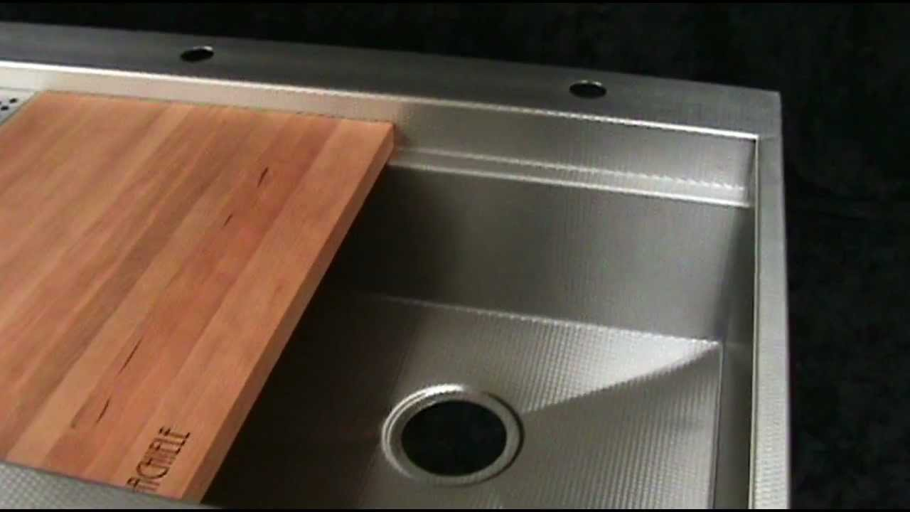 Best Apron Front Sink : Top mount copper and stainless apron front sinks by Rachiele - YouTube
