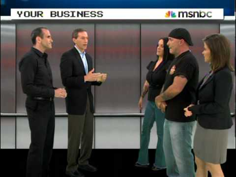 Michael Port on MSNBC's Your Business with JJ Ramberg