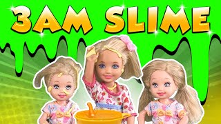 Barbie - The 3AM Slime Challenge! | Ep.120