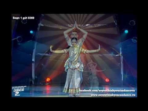 [SYTYCD 2] Chung Kết 4 (26/10) - Soạn 1 gửi 8369 - Gia Hân, Ngọc Thịnh - Bollywood