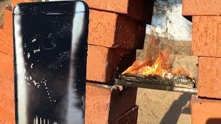 تجربة حرق الآيفون 6 بلس